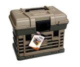 いつでもお買い得!プラノ PLANO MOLDING CO  BOX2個付工具箱 グレー大 137200  (W)