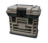 いつでもお買い得!プラノ PLANO MOLDING CO  4段トレー付工具箱 グレー 小 135430 (W)