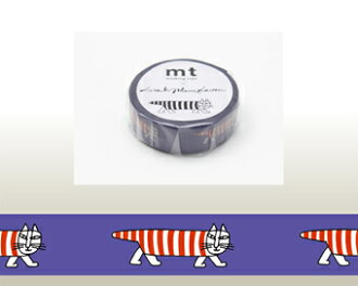 Kamoi mt X Lisa Larson MIKEY the cat masking tape
