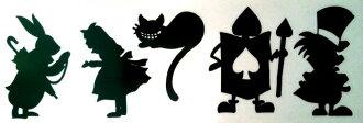 Sticker Wonderland Alice anime Big
