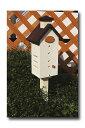 木製 レディバードハウスチムニー型
