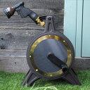 【送料無料】ホースリール「COSMO Bronze-1」(ブロンズリール BR4-XT20BRPL)【おしゃれ 高品質】