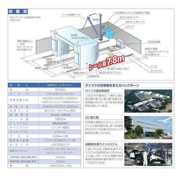 ◆安全自動車ジスペクト門型洗車機GS300J‐...の紹介画像2