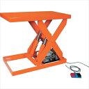 ★直送品・代引不可★トラスコ中山(株) TRUSCO オレンジブック テーブルリフト300kg 油圧式 450X800