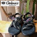 【Chubasco】(チュバスコ) CH QUETZA PUERCO BLACK ワラチ サンダル アウトドア