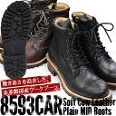 ブーツ メンズ サイドジップ 日本製【SLOW WEAR LION】 ソフトカウレザープレーンMID