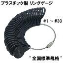 リングゲージ 日本標準規格品 プラスチック製 黒 白
