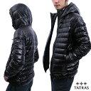 TATRAS タトラス ALISEO ダウン メンズ ダウンジャケット コート 黒 ブラック 紺 ネイビー 細身 パッカブル スーツ カジュアルMTLA20A4102