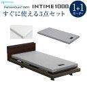 【組立設置費無料】パラマウントベッド インタイム1000 電動ベッド INTIME1000シリーズ