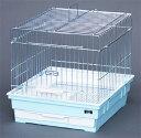 うさぎケージ 41-R DX ウサギ グレーメッキ金網 GB(ジービー)
