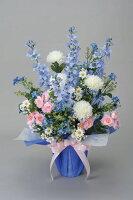 光触媒造花アレンジ 光の楽園 パナマブルー 3A1703-70