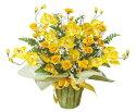 光触媒造花アレンジ 光の楽園 ゴールドファレノ 3A1704-70