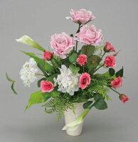 光触媒造花アレンジ 光の楽園 フェスタローズ 3A1706-70