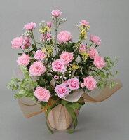 光触媒造花アレンジ 光の楽園 スプレーピンク 3A1808-60