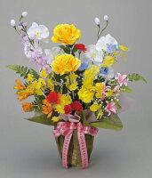 光触媒造花アレンジ 光の楽園 開運8色フラワー 3A1809-60
