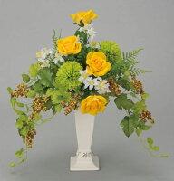 光触媒造花アレンジ 光の楽園 ツインベリー 3A1906-50