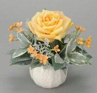光触媒造花アレンジ 光の楽園 ロマンスイエロー 3A2303-30