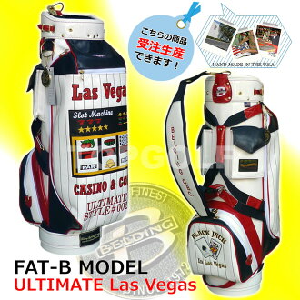 Premier designs FAT-B popular slot back bag large inlays were Las Vegas 9.5 type ( CB95014 ) golf bag