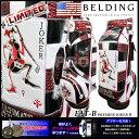 【BELDING】ベルディング FAT-B JOKER2 リミテッドカラー 9.5型(HBCB-950052)キャディバッグ |キャディーバッグ キャディーバック キャディー バッグ ゴルフ キャディ バック おしゃれ かっこいい ゴルフバッグ ゴルフバック ケース メンズ