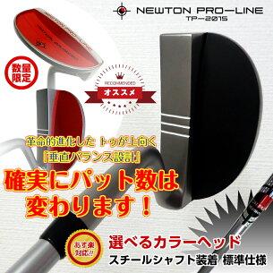 ニュートンプロラインパター スチール シャフト プレゼント