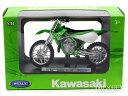 カワサキ KX 250 グリーン/ホワイト 1/18 WELLY(ウィリー)