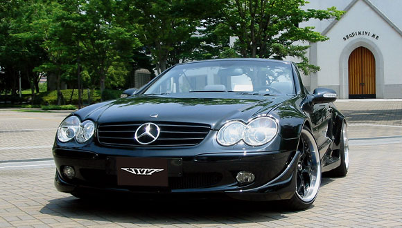 BENZ SL-Class R230 Wide Version Wide Version Full Aero