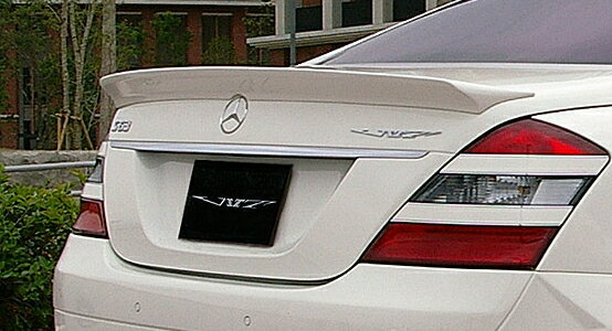 【ポイント5倍】 VITT BENZ S-Class W221 Super Wide Edition Rear Wing 塗装済み
