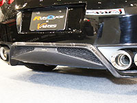 VARIS R35 NISSAN R35 GT-R REAR DIFFUSER COVER ・カーボン クリア塗装済み