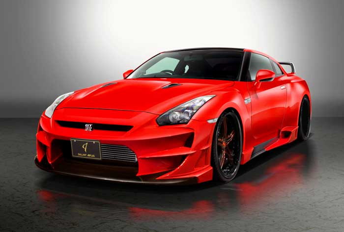 R35 GT-R Aloof 01-R ver.02 Complete Body kit