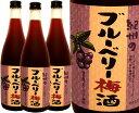 【中野酒造】ブルーベリー梅酒 720ml