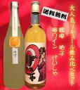 【送料無料】大人気のリキュ〜ル飲み比べSET(鶴梅 ゆず720ml・げいしゃ720ml)