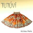 フラダンス パウスカート フラ フラダンス衣装 パウ TUTUVIパウ PFT-SP-003 コオラウマイレ タン