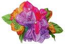 フラダンス衣装 髪飾り 花飾り ブーゲンビリア ヘアクリップ レイ イベント フラ CL-07 ブーゲンビリアクリップ  マルチ