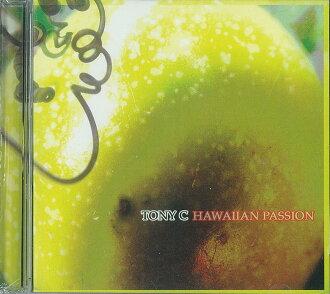 草裙舞用品夏威夷人CD新貨進口盤CD夏威夷人·熱情(HAWAIIAN PASSION)/托尼·konjugeshon(TONY C)(2003))