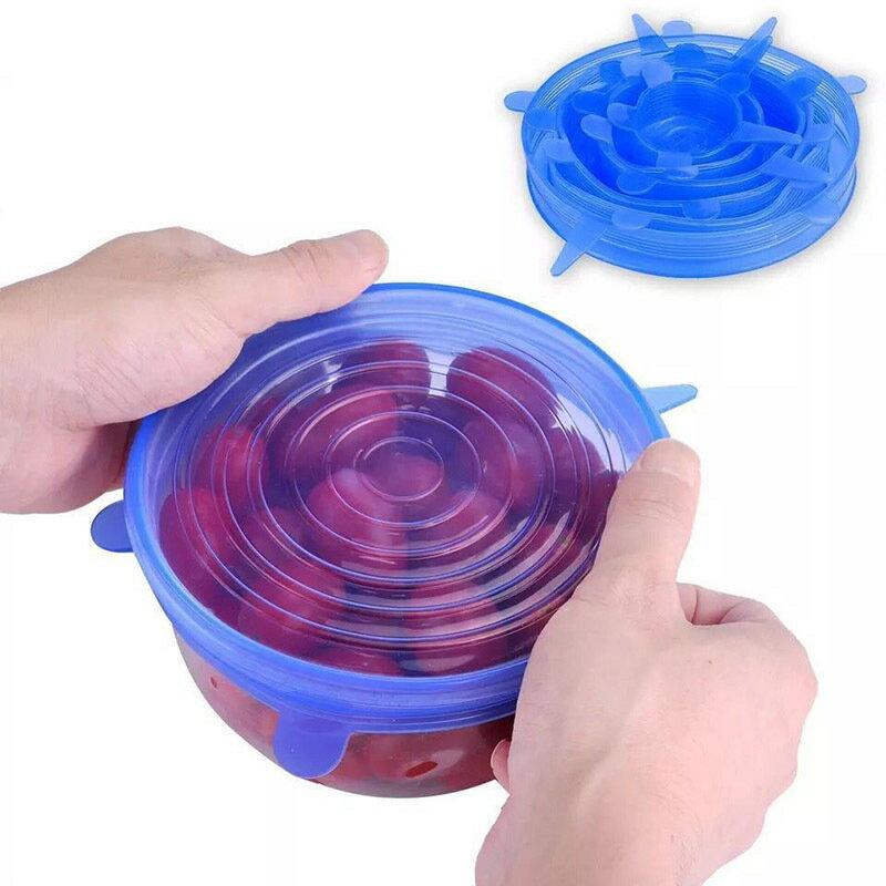 シリコーンラップ シリコン蓋 食品保存用 6枚セット