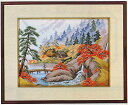 東京文化刺繍キット106「里の秋」(3号)