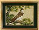 東京文化刺繍キット285「松にたか」(6号) Eagles 鷹