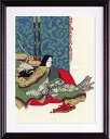Olympusクロス刺繍キット 7186「秋好中宮図」 クロスステッチ刺繍キット オリムパス