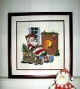 OOE クロスステッチ刺繍キット 13100 / 13101 クリスマス サンタクロース 【取り寄せ/納期40〜80日程度】 デンマークの刺しゅうメーカー「オーレンシュレーガー(O. Oehlenschlägers Eftf. / Oehlenschlager)」製ししゅうキット Christmas Santa Claus X'mas
