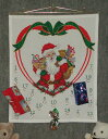 OOE クロスステッチ刺繍キット 12126 クリスマス アドベントカレンダー デンマークの刺しゅうメーカー「オーレンシュレーガー(O. Oehlenschlägers Eftf. / Oehlenschlager)」製ししゅうキット Christmas X'mas Santa Claus Advent Calendar