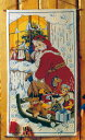 OOE クロスステッチ刺繍キット 66201 クリスマス アドベントカレンダー デンマークの刺しゅうメーカー「オーレンシュレーガー(O. Oehlenschlägers Eftf. / Oehlenschlager)」製ししゅうキット Christmas X'mas Santa Claus Advent Calendar