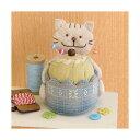 Olympusパッチワークキット PA-734 「にゃんこのカップケーキピンクッション」 ネコ ねこ 猫 三上奈津子のアニマルスウィーツ