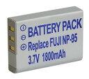 【単品】富士フィルム FUJIFILM NP-95互換バッテリー、FinePix X100/X-S1/F30/F31fd等対応