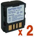 楽天トリオー定形外【2個セット】JVC日本ビクターBN-VF707互換バッテリーのお得な2個セット