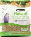 鳥用ペレット ズプリーム(ZuPreem) ナチュラル S 1.02kg   セキセイインコに セキセ