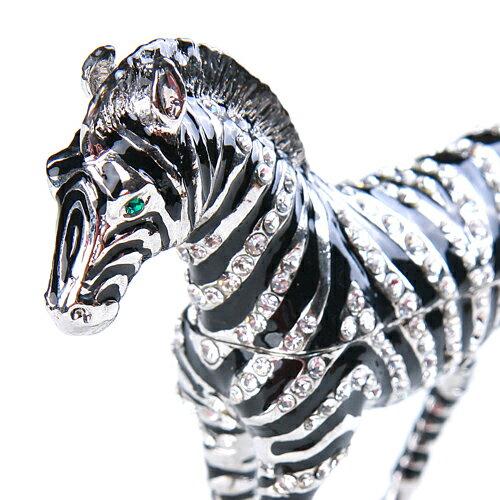 ジュエリーボックス シマウマB 縞馬のインテリア...の商品画像