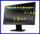 【送料無料】ブルーライトカット液晶保護フィルム19インチ (幅375mm × 高さ302mm)