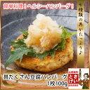 具だくさん豆腐ハンバーグ100g(冷凍)とうふ お惣菜 おそうざい