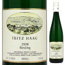 【6本〜送料無料】フリッツ ハーク Q.b.A. 2014 750ml [白]Fritz Haag Q.b.A. Fritz Haag