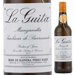 【6本〜送料無料】マンサニーリャ ラ ギータ NV ホセ エステベス 750ml [白]Manzanilla La Guita Jose Esteves
